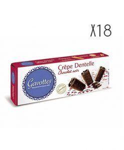 Crêpes Dentelles chocolate negro Gavottes