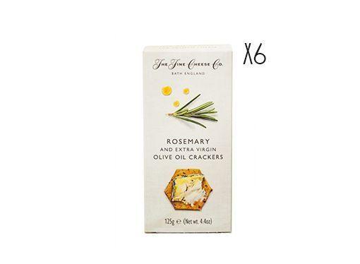 Crackers de aceite de oliva virgen extra y romero The Fine Cheese