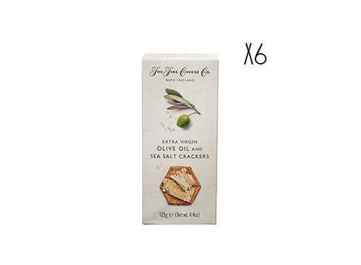 Crackers de aceite de oliva virgen extra y sal The Fine Cheese