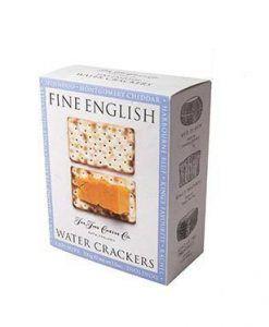 Crackers de agua Fine English