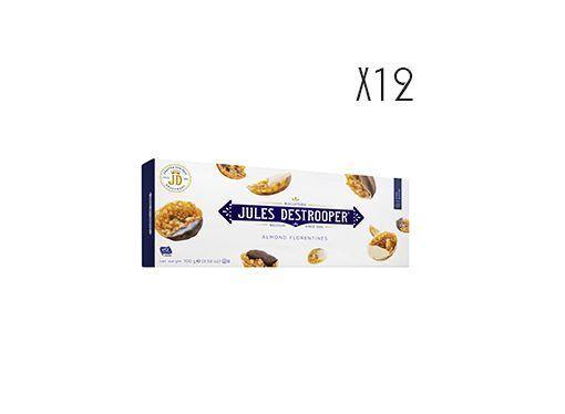 Florentins d'amande aux trois chocolats et Caramel Jules Destrooper