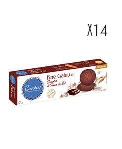 Galletas de chocolate y flor de sal Gavottes