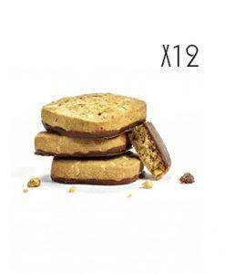 Les delices Biscuits de almendra con chocolate negro Jules Destrooper