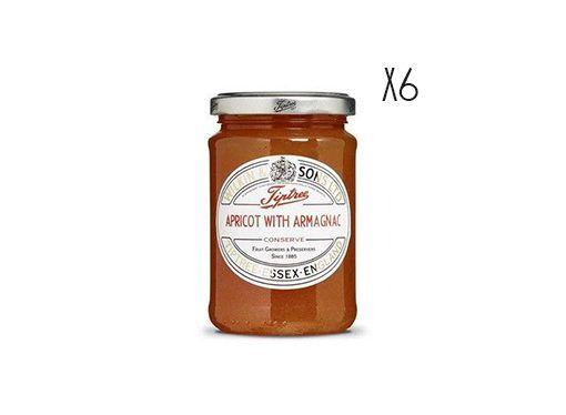 Confiture d'abricot à l'armagnac Tiptree