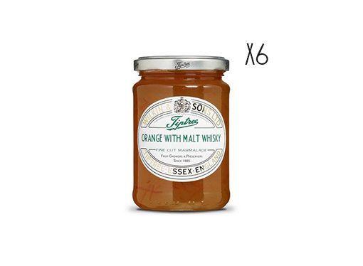 Mermelada de naranjas con Whisky de Malta Tiptree
