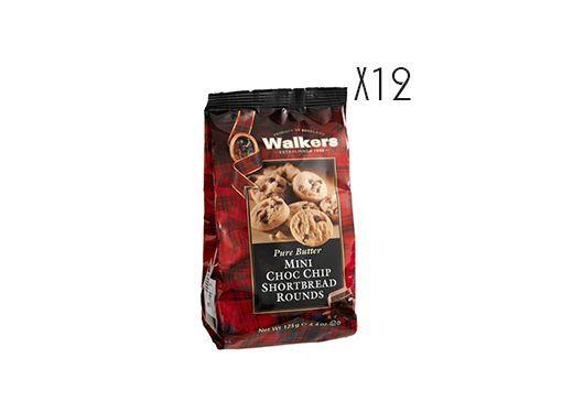 Mini shortbreads aux pépites de chocolat Walkers