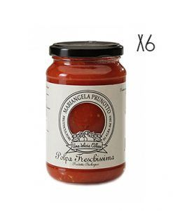 Pulpa de tomate natural picado ecológica Mariangela Prunotto