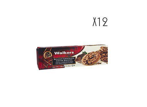 Belgian chocolate chips biscuits Walkers