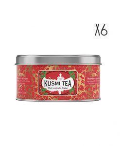 Té verde a la fresa Kusmi