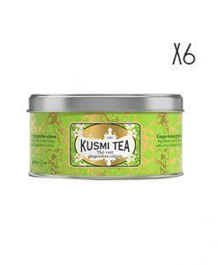 Té verde al jengibre y limón Kusmi