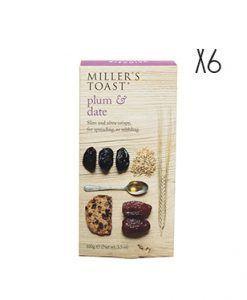 Tostadas de ciruelas y datiles Miller's Toast