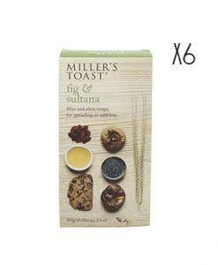 Tostadas de higos y pasas Miller's Toast