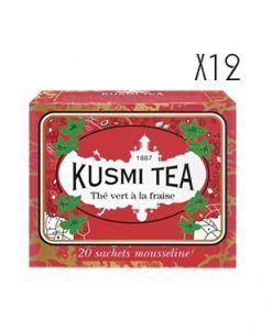 Thé vert à la fraise 20 ms Kusmi
