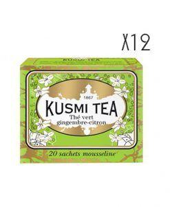 Té verde al jengibre y limón 20 ms Kusmi