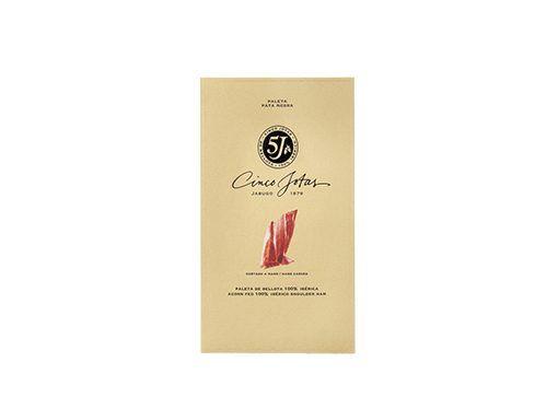 Paleta 5J de bellota 100% ibérica loncheada