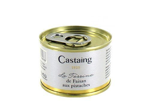 Terrine de faisan à la pistache Castaing