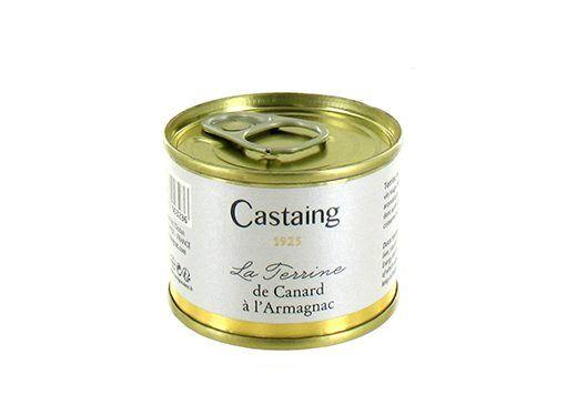 Terrina de pato al Armagnac Castaing