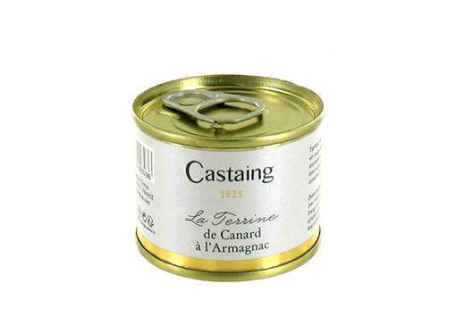 Terrine de canard à l'Armagnac Castaing
