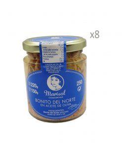 Thon germon à l'huile d'olive Marisol Pack 8 unités