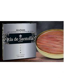 Anchois platine Ria de Santoña 12 filets Edition limitée