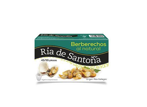Berberechos de las rías gallegas 45-55 piezas Ría de Santoña