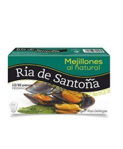 Moules au naturel des rias Galiciens Ria de Santoña