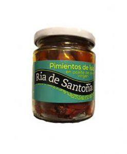 Pimiento de Isla en aceite de oliva Ria de Santoña