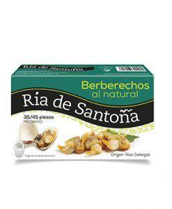 Berberechos de las rías gallegas 35-45 piezas Ría de Santoña