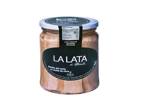 Bonito del norte en aceite de oliva 400 g. La Lata de Braulio