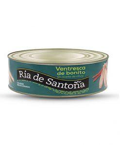 Ventresca de bonito en aceite de oliva 900 g. Ria de Santoña