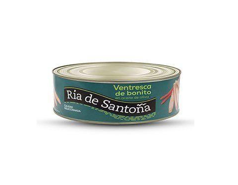 Ventre de thon blanc à l'huile d'olive 900 g. Ría de Santoña