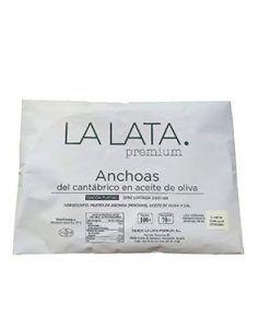 Anchois cantabriques à l'huile d'olive Platine La Lata de Braulio