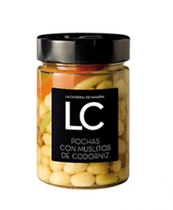 Haricot pocha avec de cuisse de caille LC
