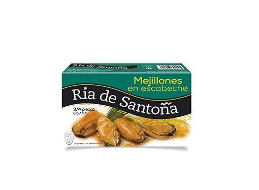 Mejillones en escabeche Super Gigantes Ría de Santoña