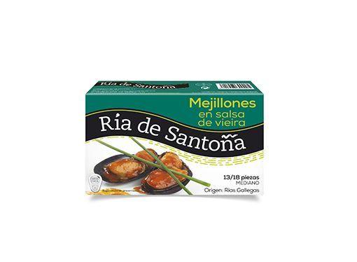 Mejillones de las rias gallegas en salsa de vieira Ría de Santoña 1