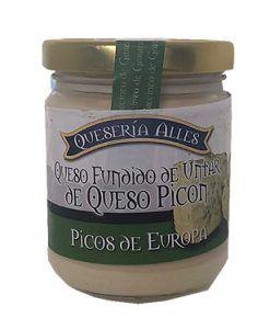 Crema de queso Picón Picos de Europa Queseria Alles