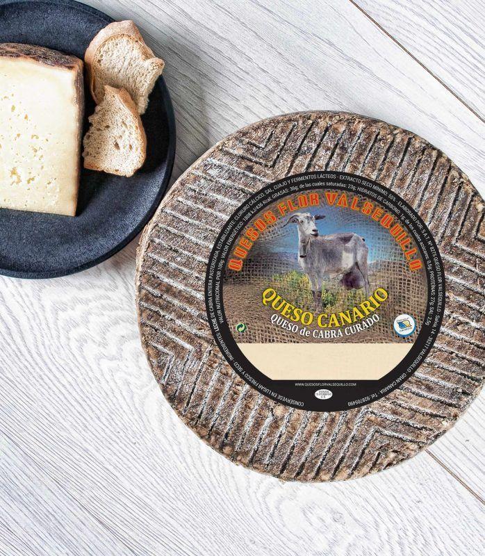 todo sobre el queso de cabra canario flor de valsequillo