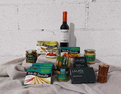 Canned fish Basket nº2