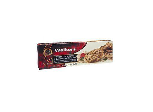 Biscuits con chips de chocolate blanco y frambuesa Walkers