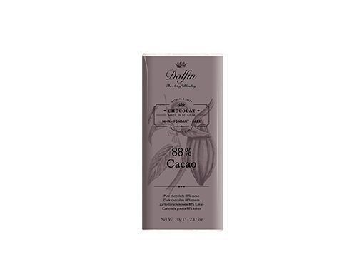 Chocolate negro 88% de cacao Dolfin