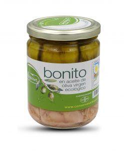 Bonito del norte en aceite de oliva virgen ecológico Arlequín 400 gr